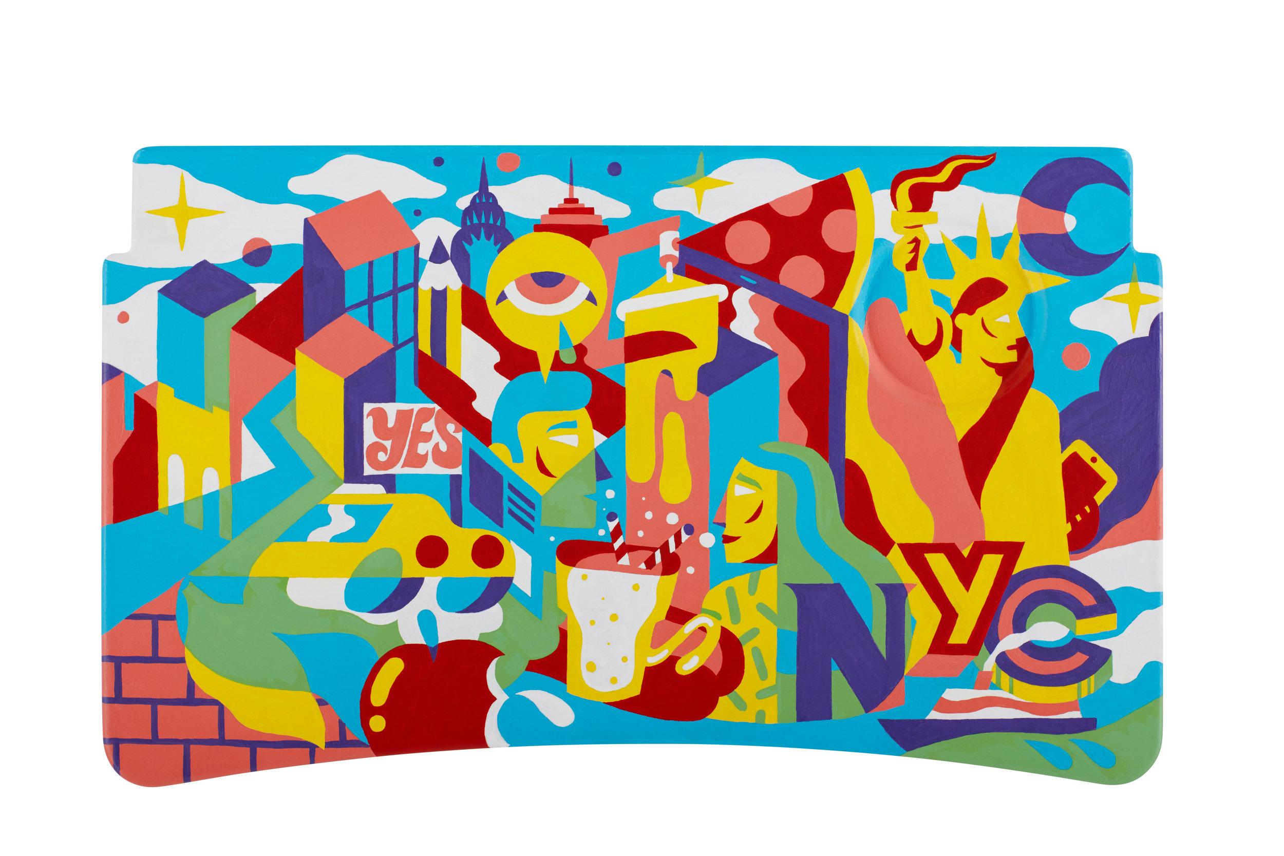 NEW YORK CITY  Role:Creative Director  Art Director: Rose Sacktor Artist: Pedro Campiche