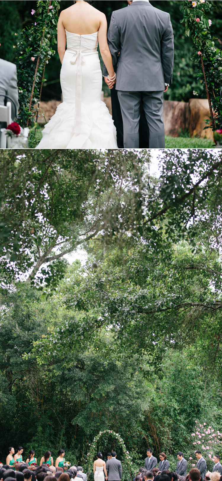 backyard houston wedding