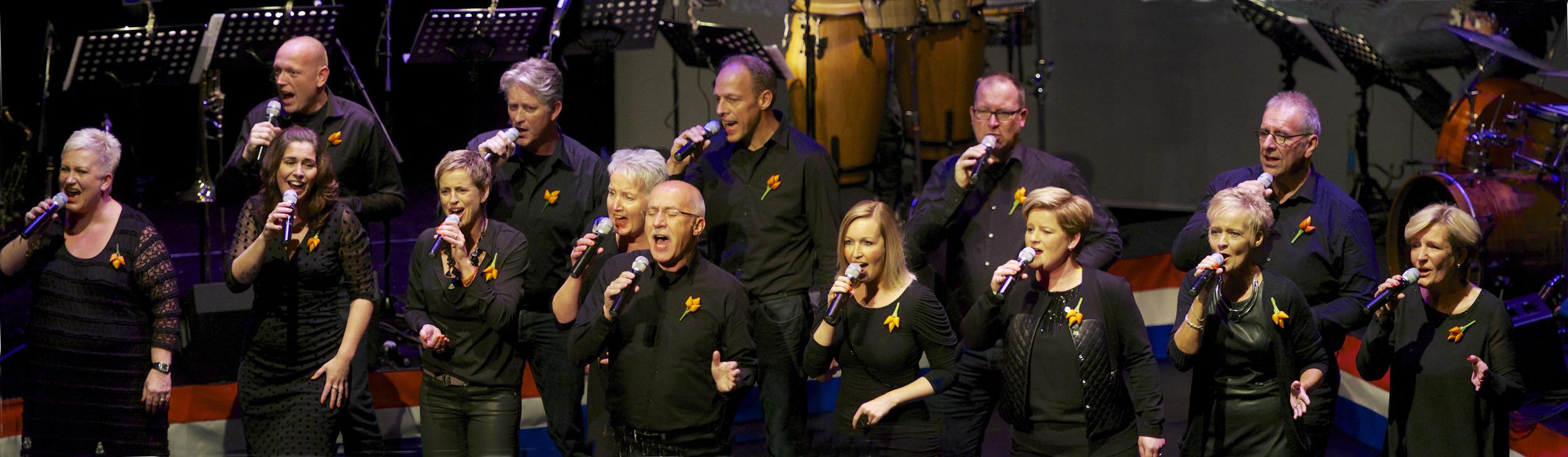 New Valley Singers groepsfoto