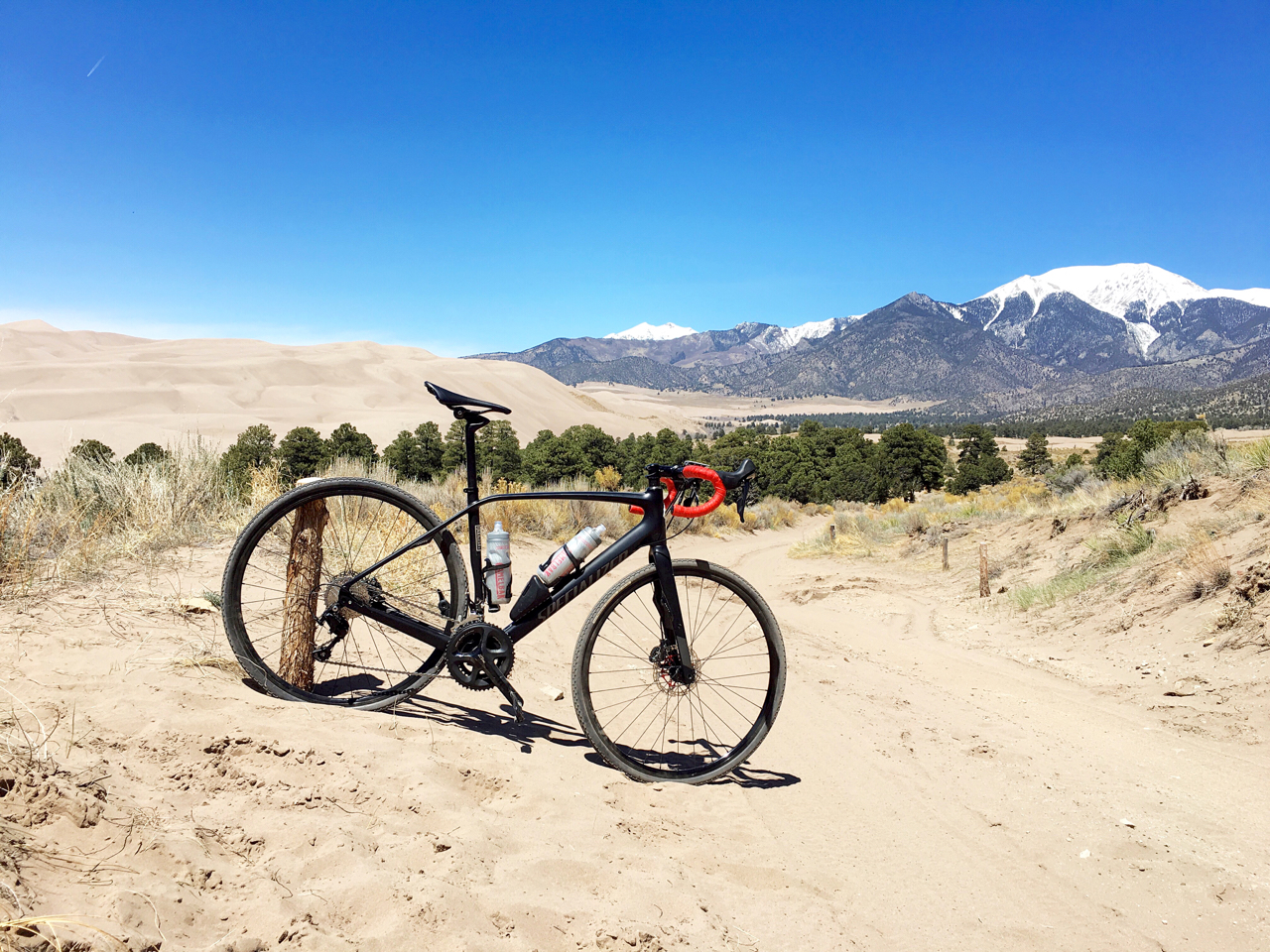 Getting Loose at Great Sand Dunes National Park in Colorado.