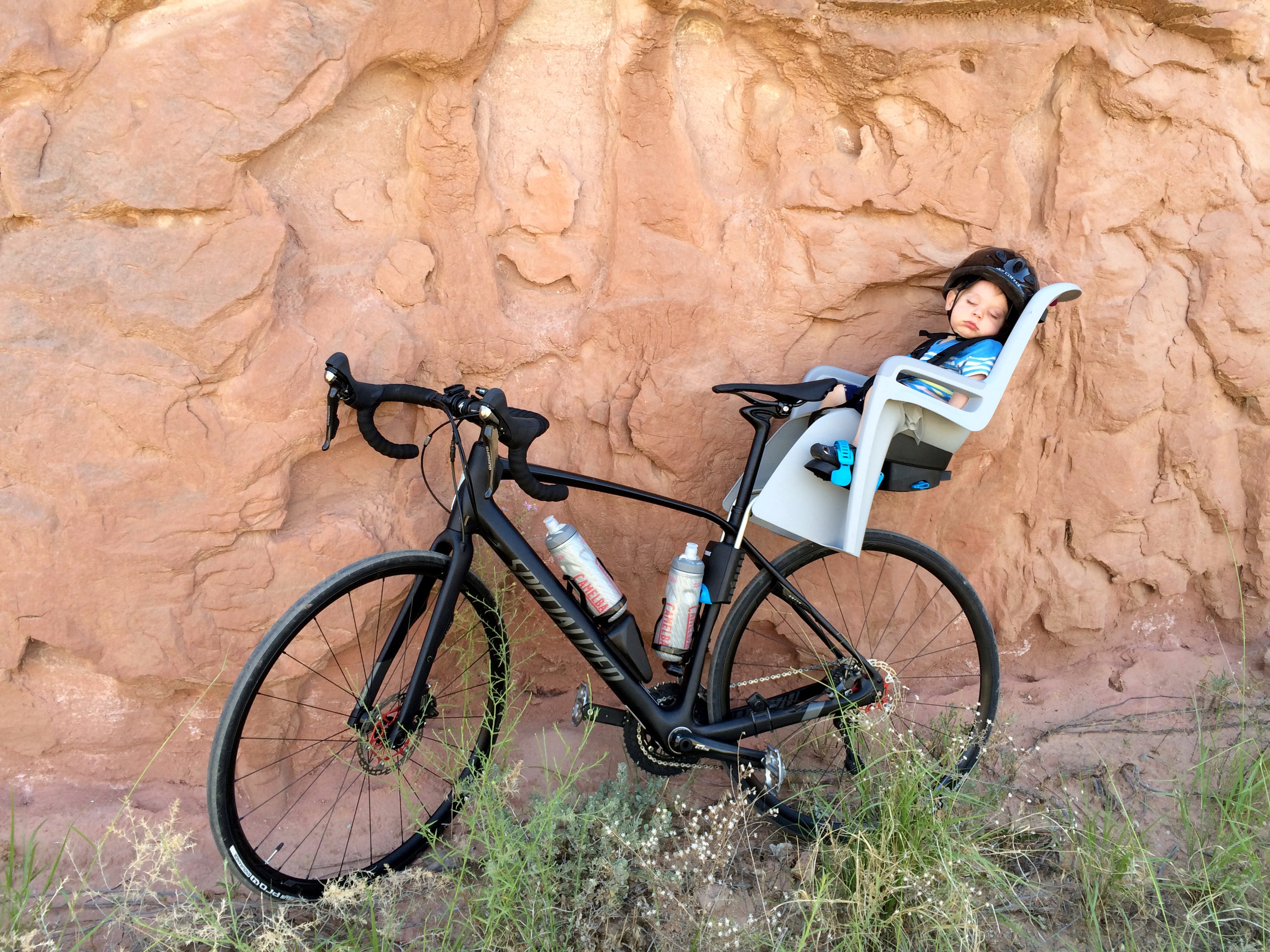 The Specialized Diverge: Approved by two year olds everywhere!