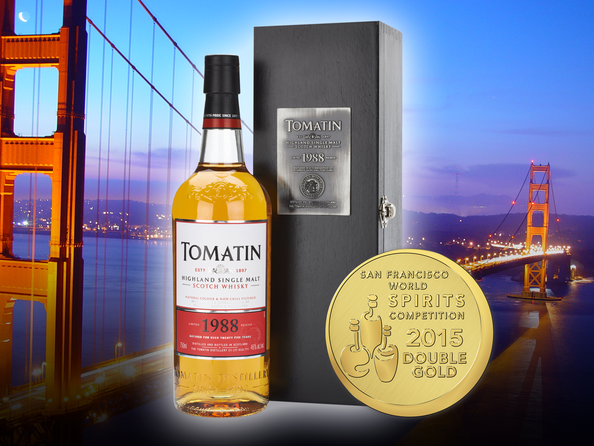 1988 Tomatin Double Gold