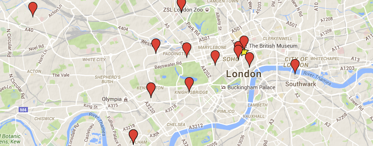 FIND OUR LOCAL STOCKISTS IN LONDON AND BEYOND