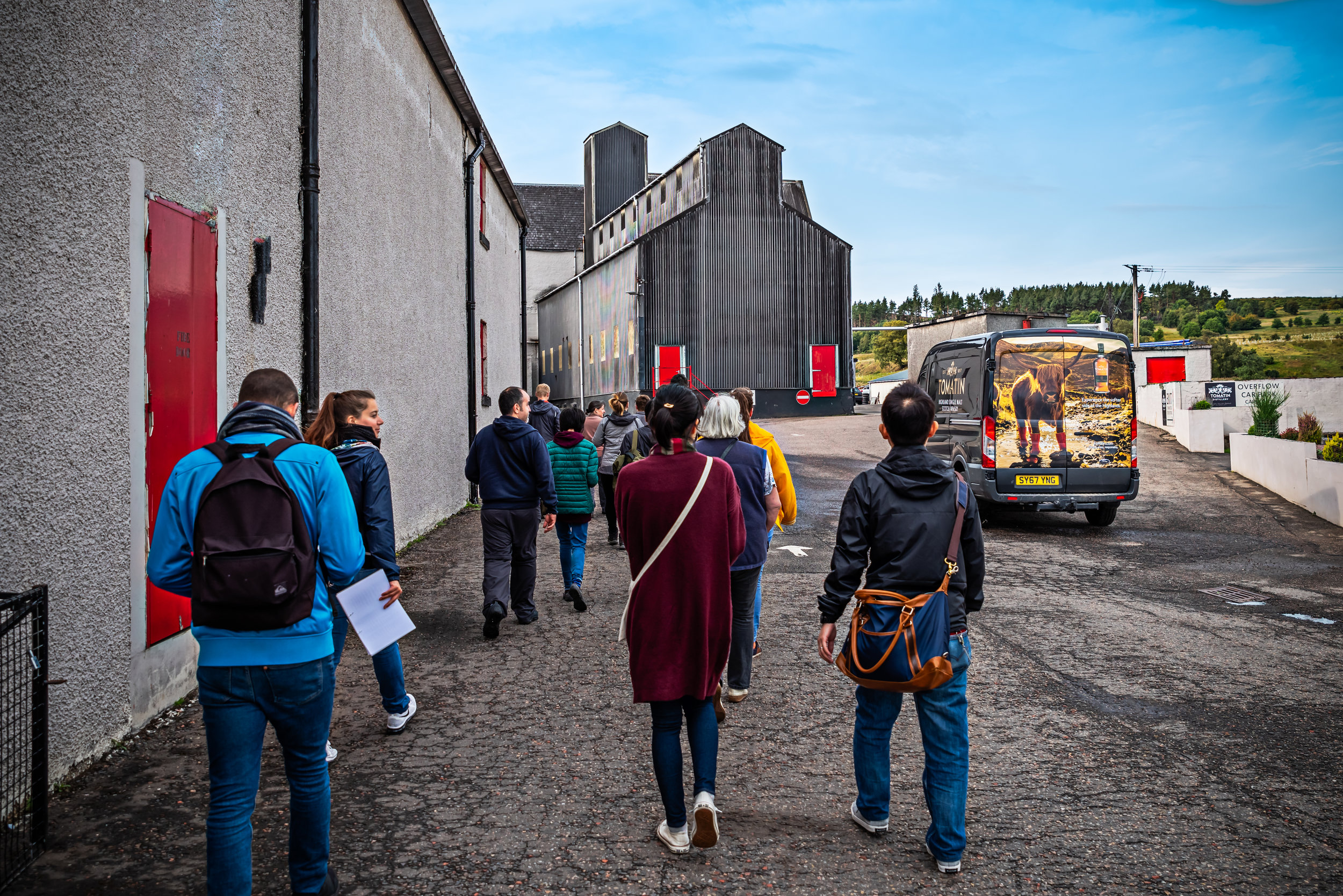 TOUR TIMES  - RUNNING THROUGHOUT THE DAY  Friday 17th of May   Explore our distillery and learn how we produce our award winning whiskies. You will learn about the unique legacy of Tomatin which, having started in 1897, is the driving force for the company today. Finish up with three of our Tomatin Single Malts, each revealing why we are the 'softer side of the Highlands'. For added fun on our festival day, we will demonstrate how well our whiskies can lend themselves to pairings, including chocolate from Highland Patisserie and cheese from Connage Highland dairy.  Allow at least one hour.  This tour includes the tasting of three whiskies;  Tomatin Legacy , Cù Bòcan & Antiquary. Over 18s £10, under 18s £4.  Contact  TOMATIN VISITOR CENTRE  to book.