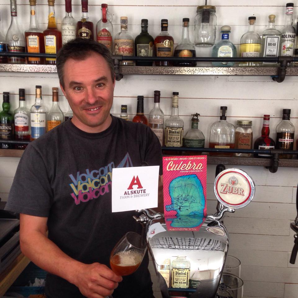 First Alskute Beer on Tap at Amarillo