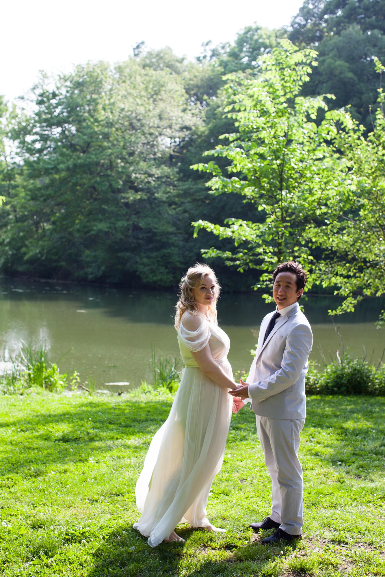 Picnic House Summer Wedding