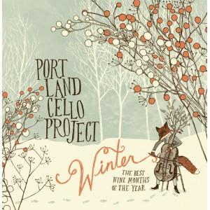 """Portland Cello Project 'Winter"""" CD Cover"""