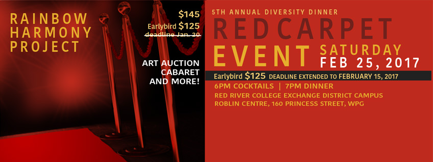 Rainbow Harmony Project's 5th Annual Diversity Dinner, Art Auction & Cabaret