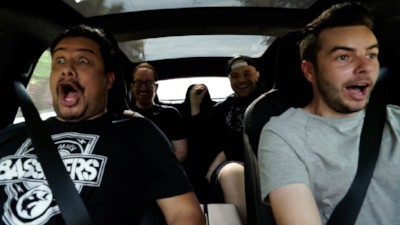 Tesla's  Ludicrous Mode provokes visceral reactions from riders who accelerate from 0-60 in under 2.5 seconds