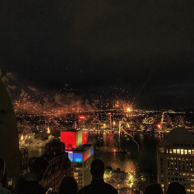 Best fireworks in the world!  Detroit City! #detroitovereverything