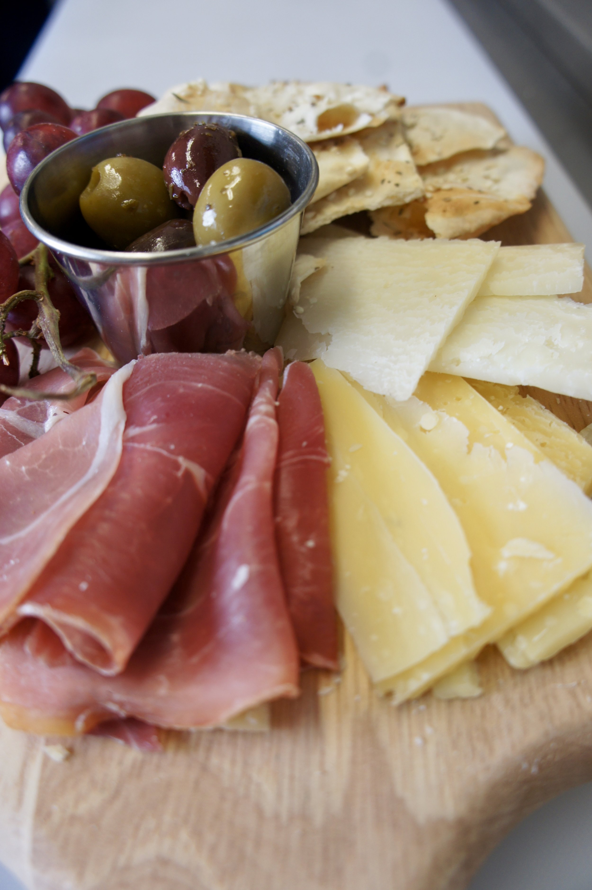 Cheese Tray featuring W&W Cheese and accompaniments