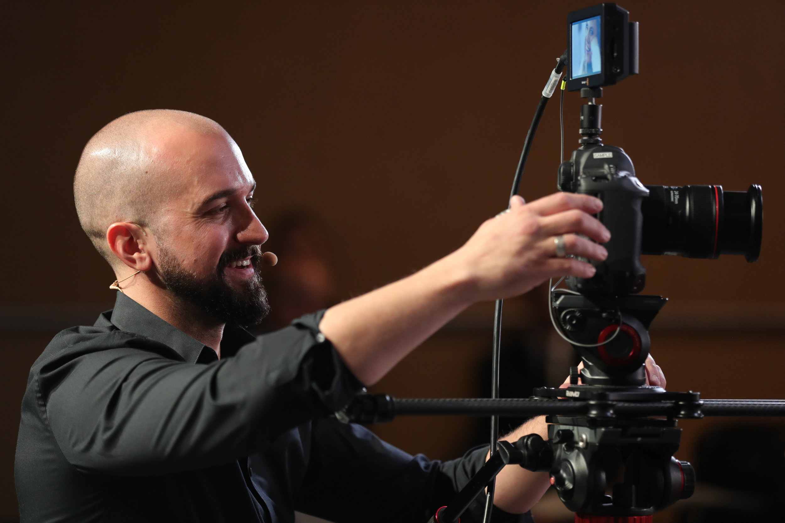 Canon USA live learning - Canon LIve Learning StageEOS Cameras & Workflows