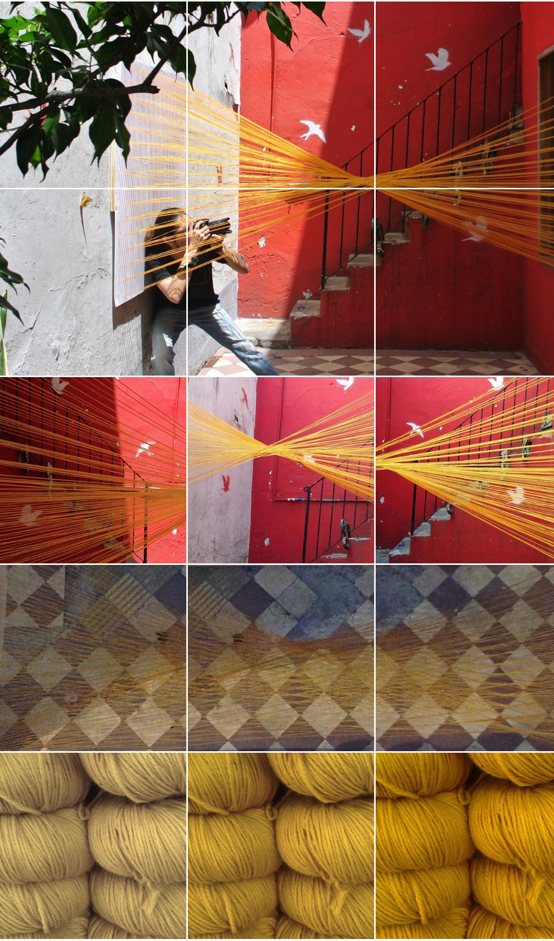 Installation test fit, by One South, Palermo, Buenos Aires 12-2016