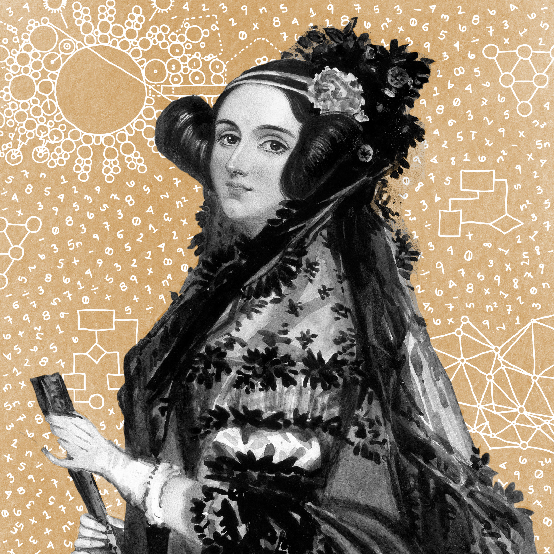 Ada Lovelace   Lovelace was the daughter of the poet Lord Byron, and her mother encouraged her to pursue mathematics in the belief that it would counteract any poetic leanings inherited from her father. She befriended Charles Babbage, inventor of the first programmable computer. While Babbage had conceived his computers as tools for mathematical calculations, but Lovelace was the first to realize that computers could process any data representable by numbers, foreshadowing modern computing. She wrote an algorithm for the Analytical Engine, which is now considered the first computer program. Sadly, Lovelace died at a young age, while Babbage was frustrated in his attempts to build his engines, setting the science of computing back decades.