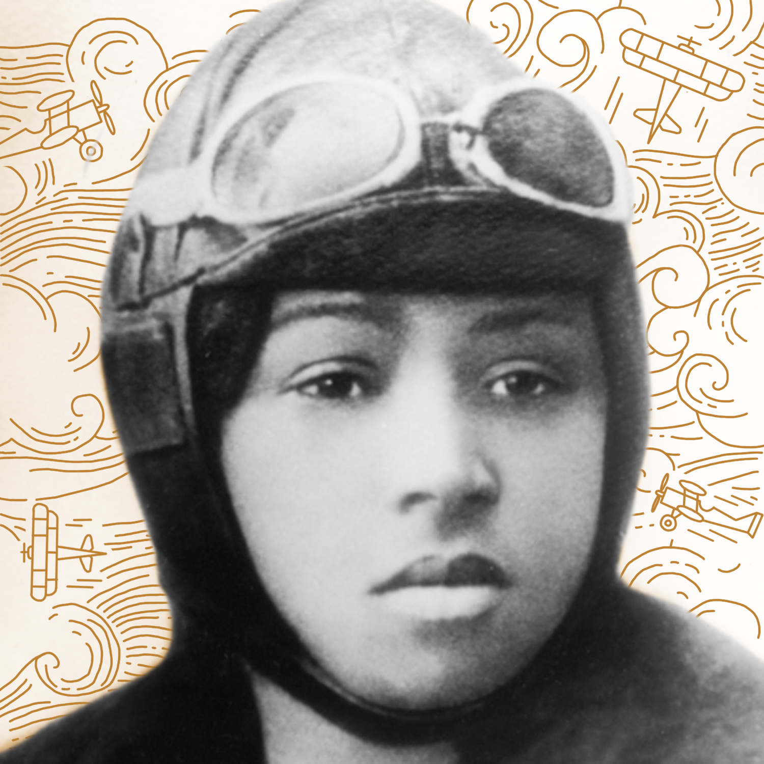 Bessie Coleman   When Coleman was unable to find a mentor or teacher in Chicago to help her get her pilot's license, she went to France, where she became the first African-American woman to earn an international pilot's license. After founding an aviation school. Coleman made it her life's work to inspire other members of the black community to take up an interest in aviation.