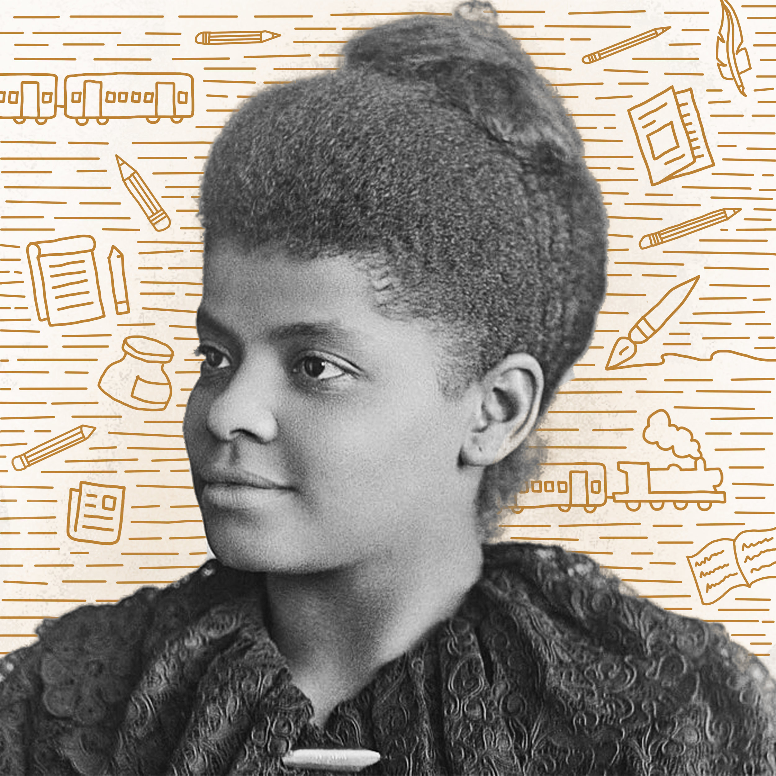 Ida B. Wells   Born a slave in Mississippi in 1862, she became basically everything: a civil rights reformer, fearless investigative journalist, and serious badass who took on race hatred head-on by writing openly about America's lynching as a way to control African American people. She even refused to give up a spot on a white woman's train car, 71 years before Rosa Parks.
