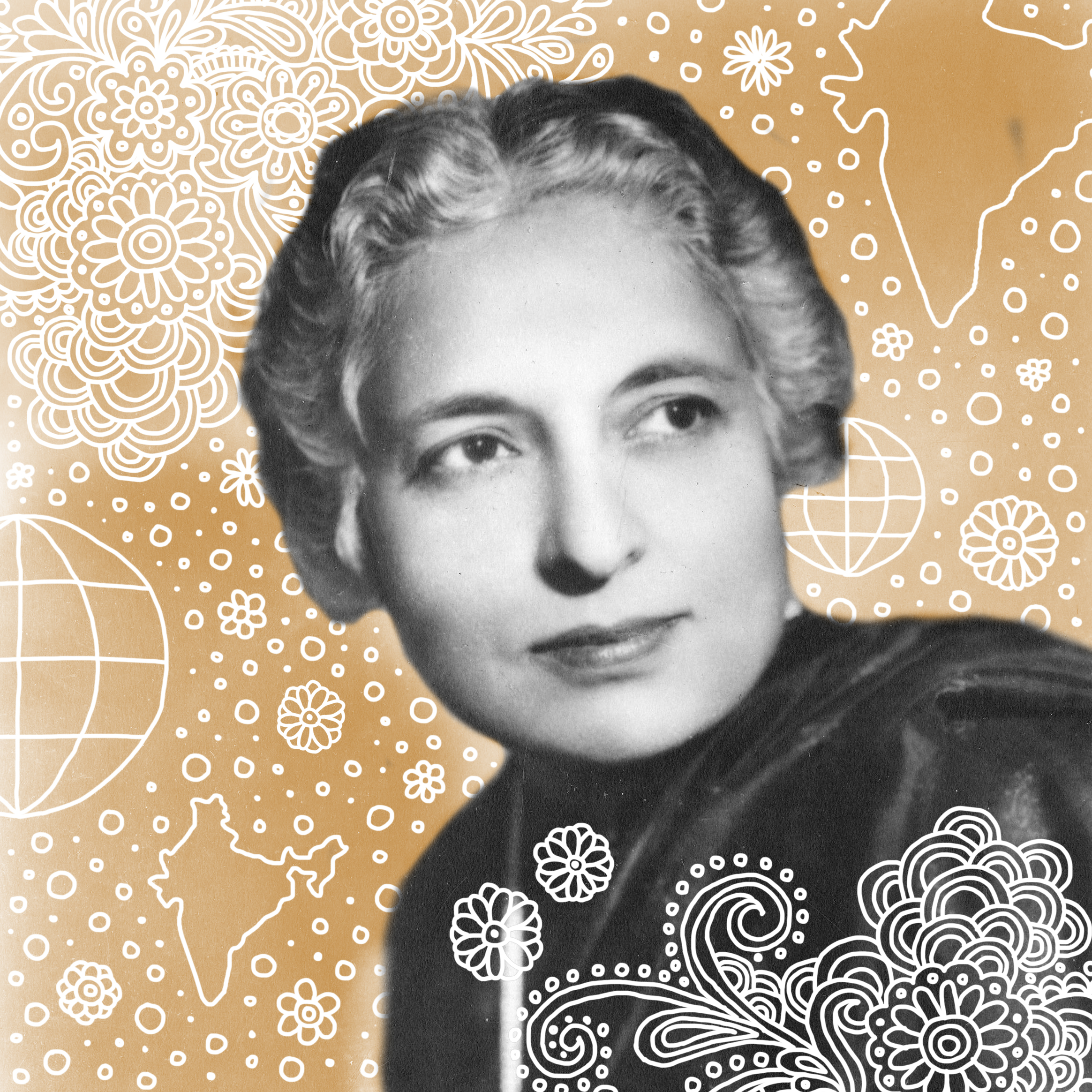 Vijaya Lakshmi Pandit   At a time when a political career was non-existent for women, the late Vijaya Lakshmi Pandit was way ahead of her times. Pandit became the first female president of the UN General Assembly in 1953, and was the first Indian woman to hold a cabinet post, serving twice as the president of Indian Congress.