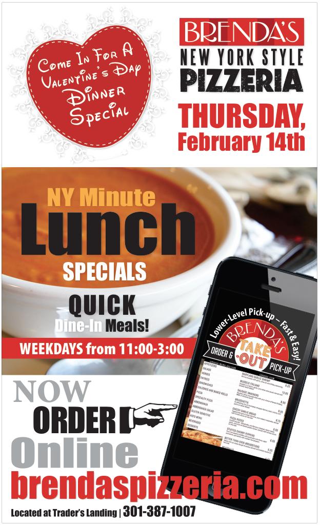 FEBRUARY: Love & Online Ordering