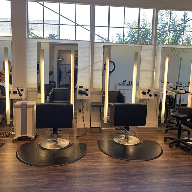 Stations for Rent #chairrental #boothrental #salonstation #marincounty #behindthechair #oribe #kerastase #salon