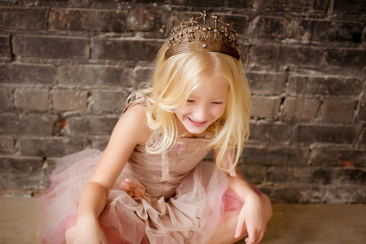 Princess laughing