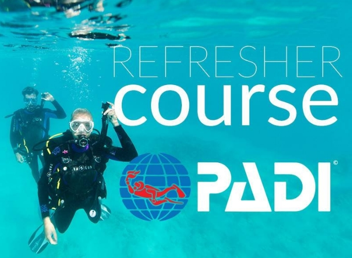 For any diver who hasn't dove for at least 6 months. Join us for a Theory Review and 1 Hour Refresher Session in the Pool. Refresh your Scuba Diving skills and knowledge. Go over important dive safety concepts, dive planning essentials , and problem management so that you are ready to dive back in!