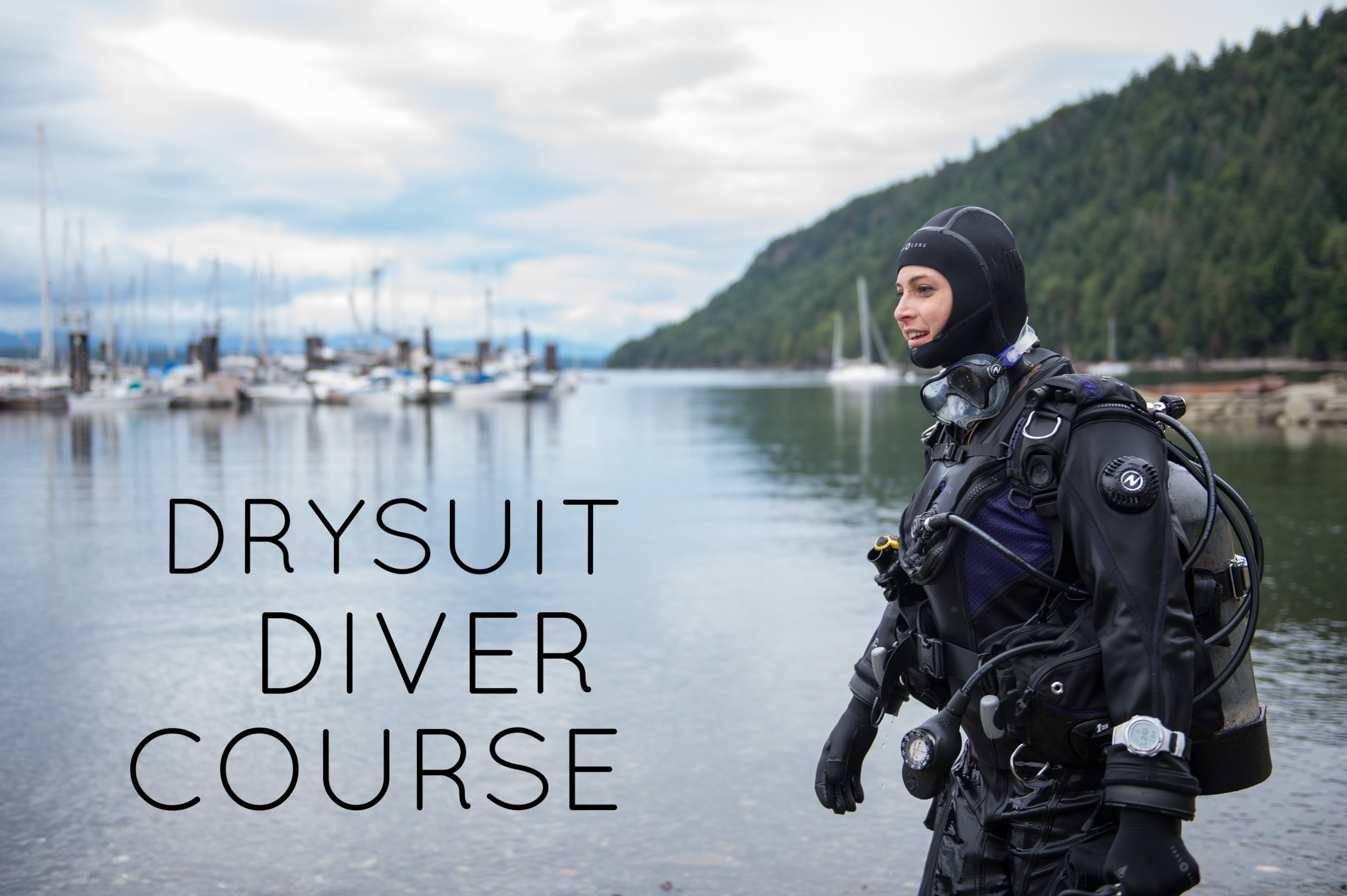 Our most popular specialty course! Learn how to dive in a Drysuit so that you can stay warm in those chilly BC waters!