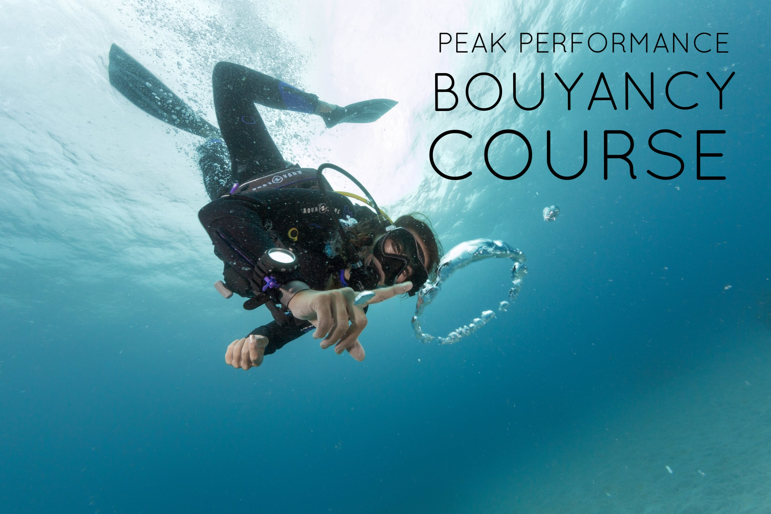Good Bouyancy is the key to mastering Scuba Diving. This course teaches you new techniques to improve and practice your bouyancy in the water.