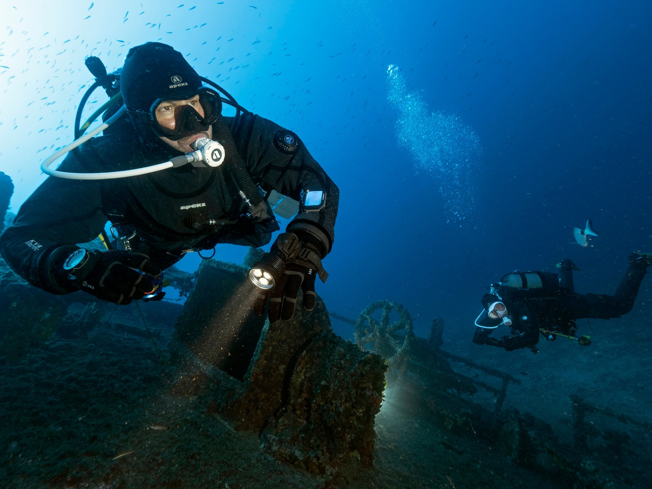 Step 2 - Open Water Dives - to build confidence and expand your scuba skills to help you improve as a diver and discover new ways to enjoy scuba diving
