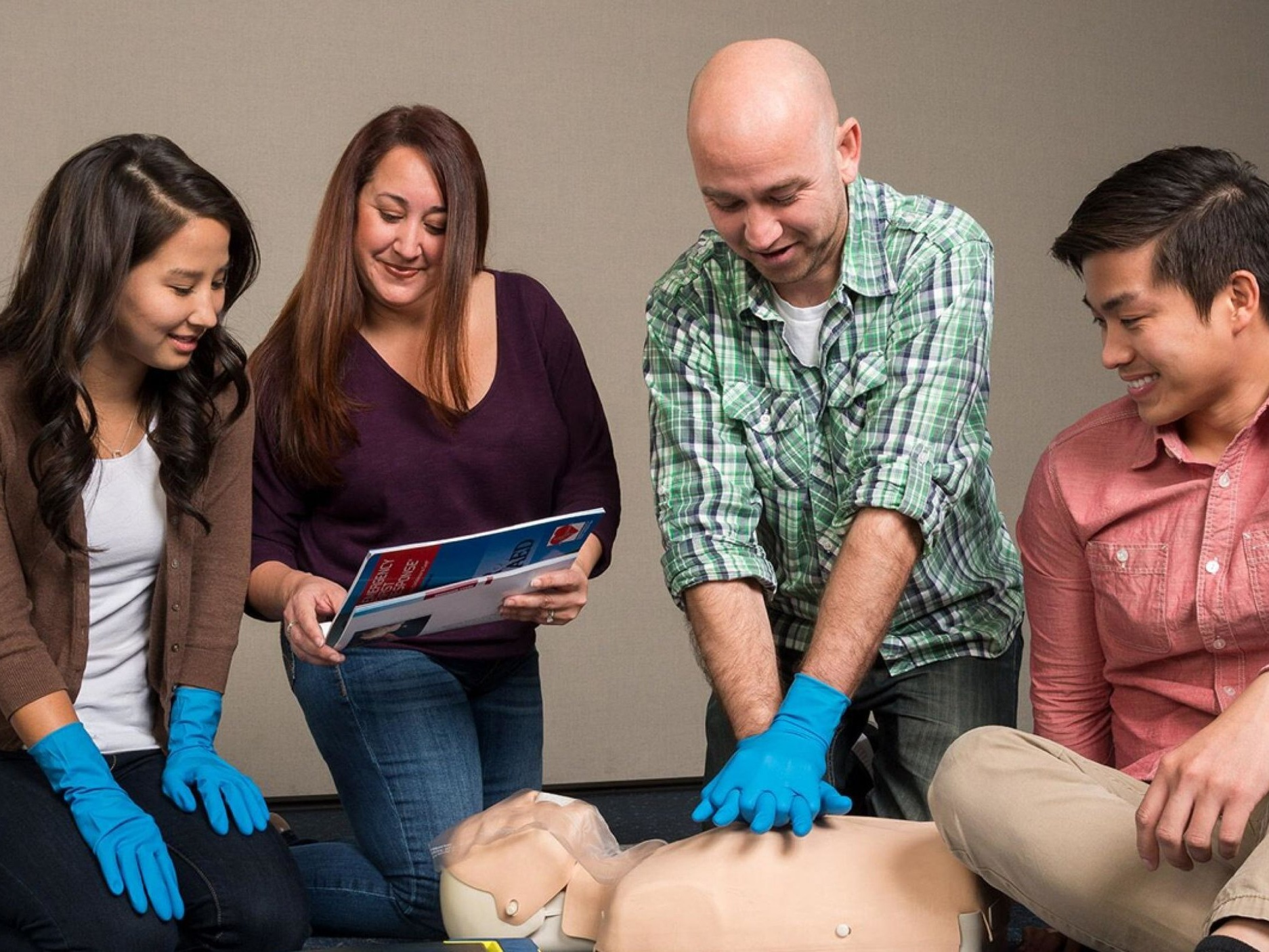 Step 2 - Emergency First Response (First Aid) Training - To Teach you simple-to-follow steps for CPR, first aid and emergency care and help build your confidence as a rescuer when faced with a medical emergency