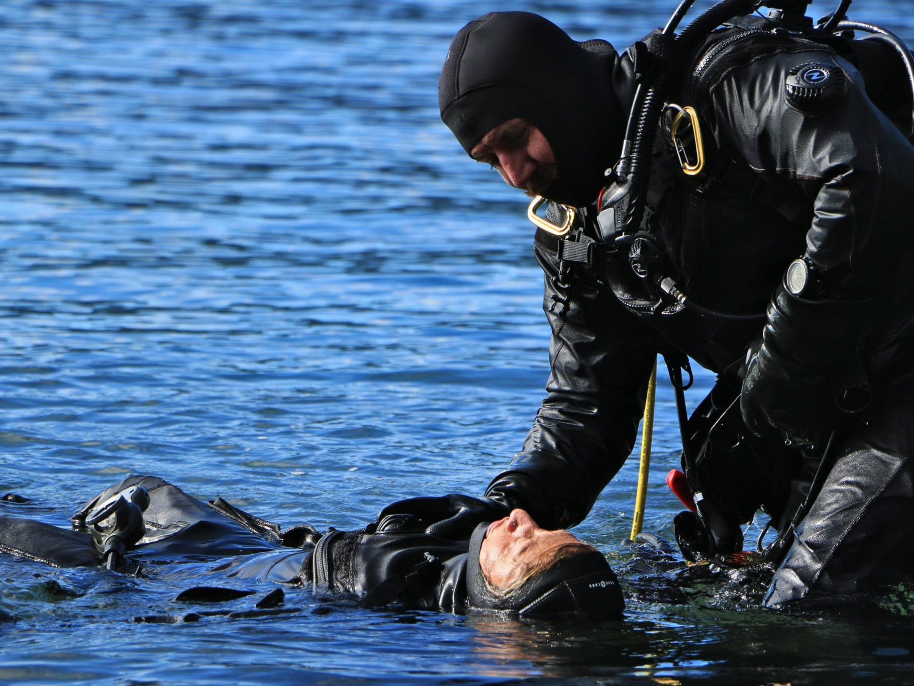 Step 3 - Open Water Training - To Train you in diver rescue techniques and problem solving skills To help build your confidence to respond when faced with a diver emergency