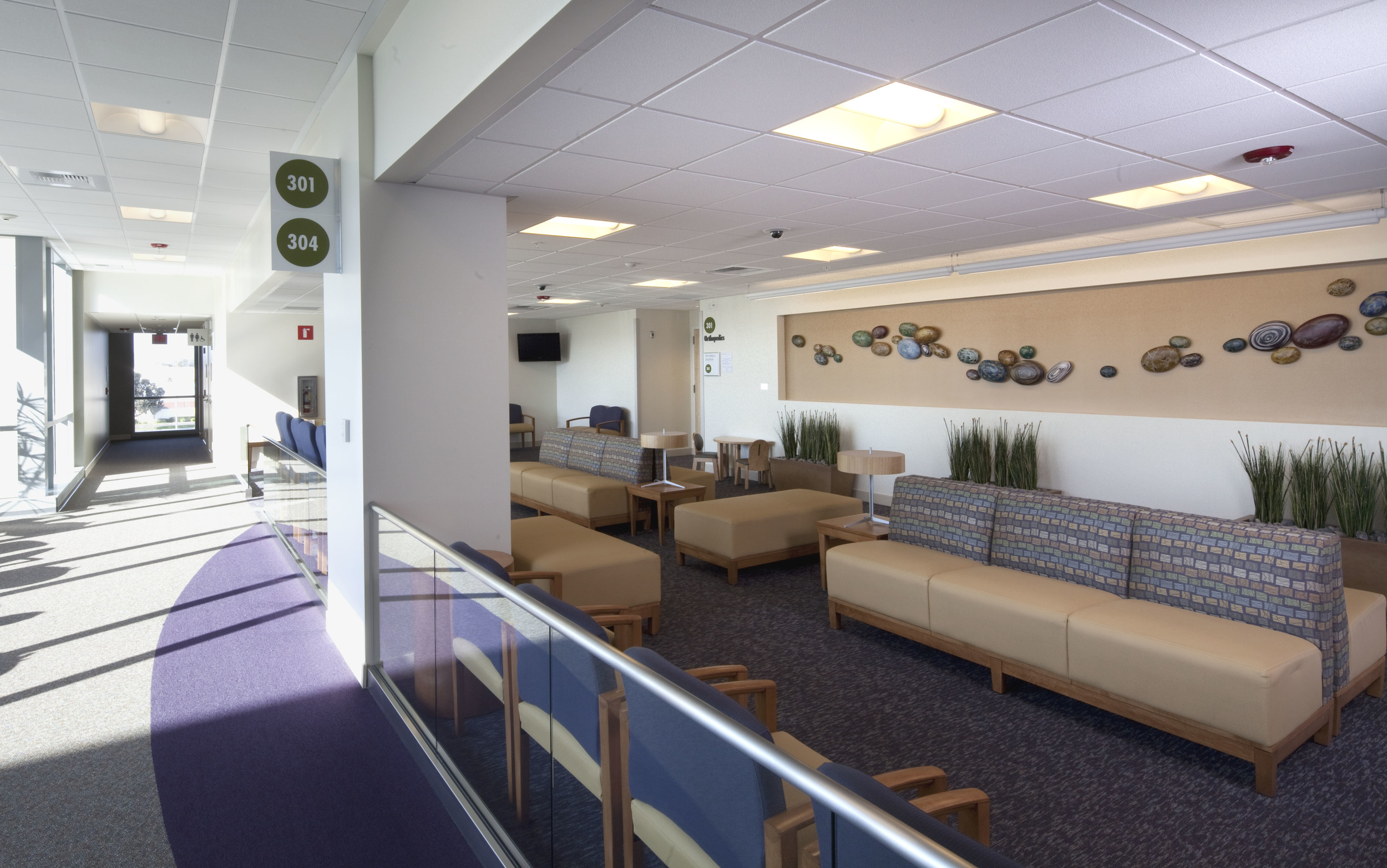 Third Floor Waiting Area