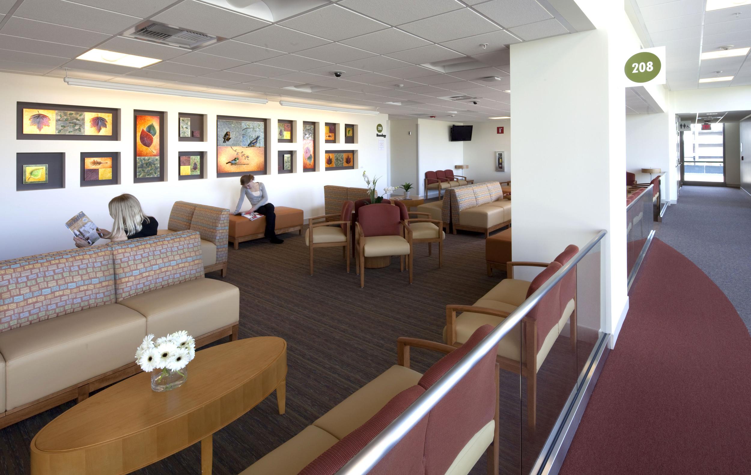 Second Floor Waiting Area