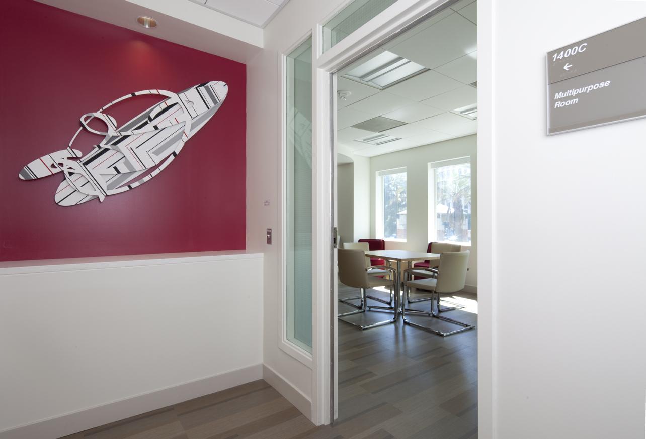Entry to Multi-Purpose Room