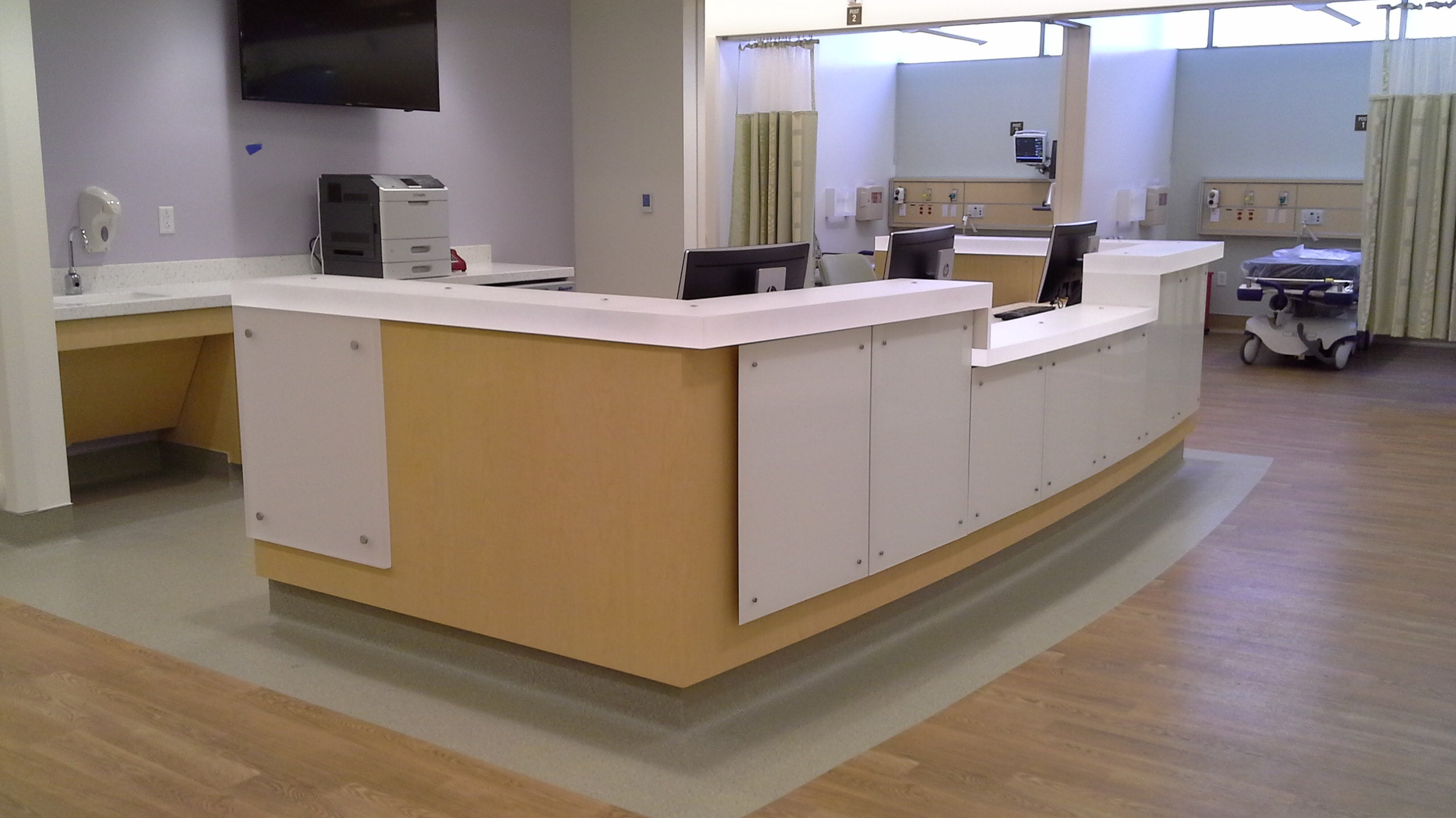 PACU Nurse Station