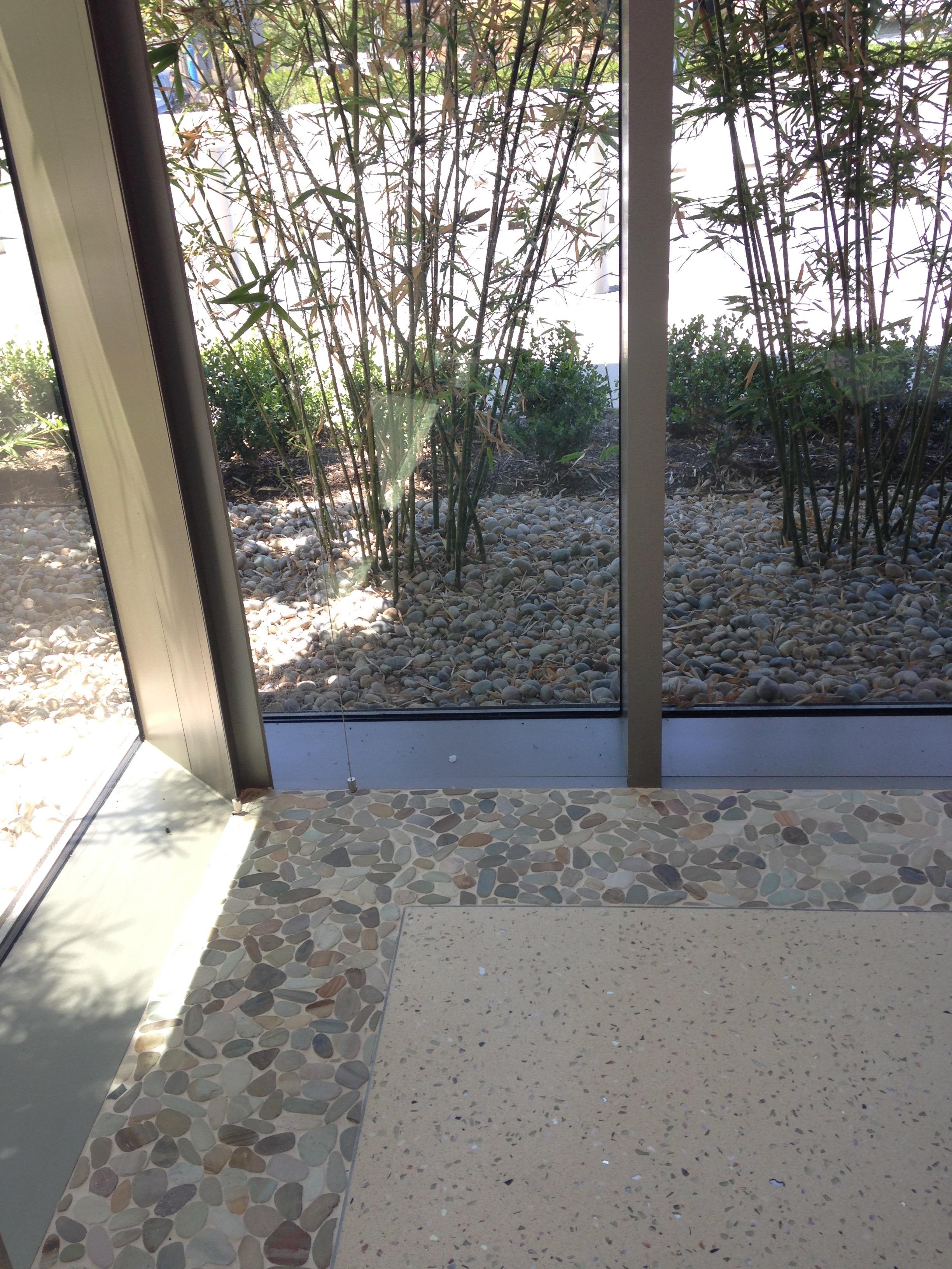 Pebble Border Detail