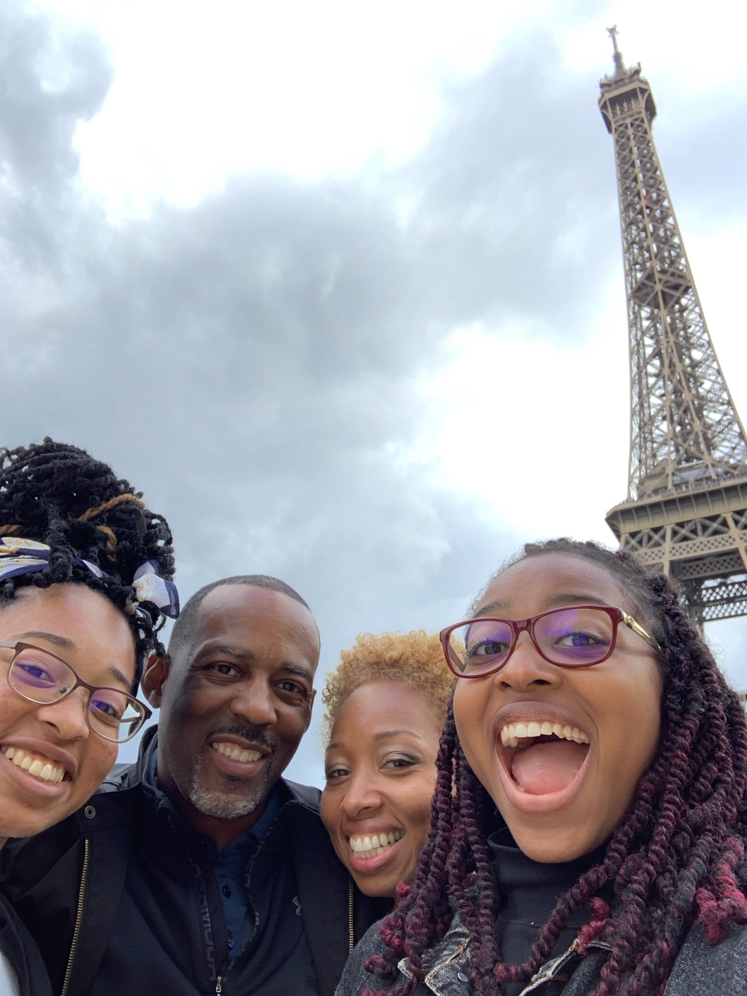The Youngs in Paris!