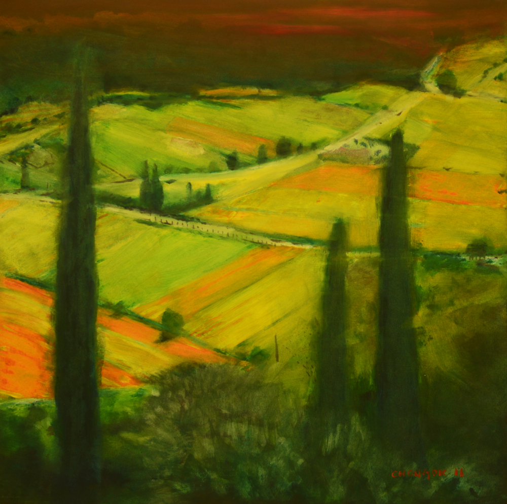 Menerbes Landscape series, 04