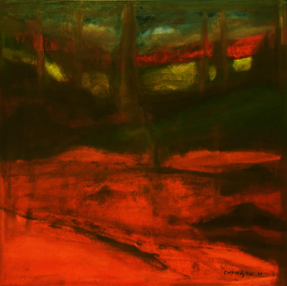 Menerbes Landscape series, 09