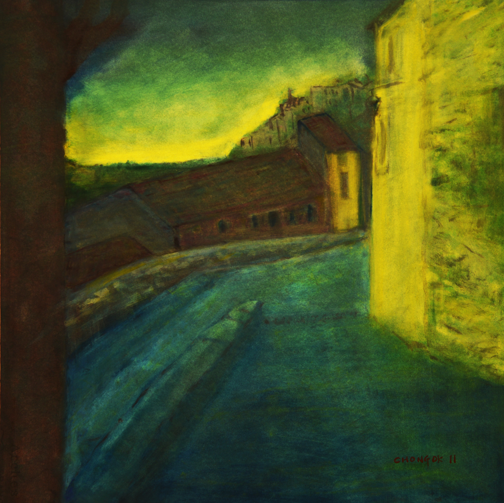 Menerbes Landscape series, 17