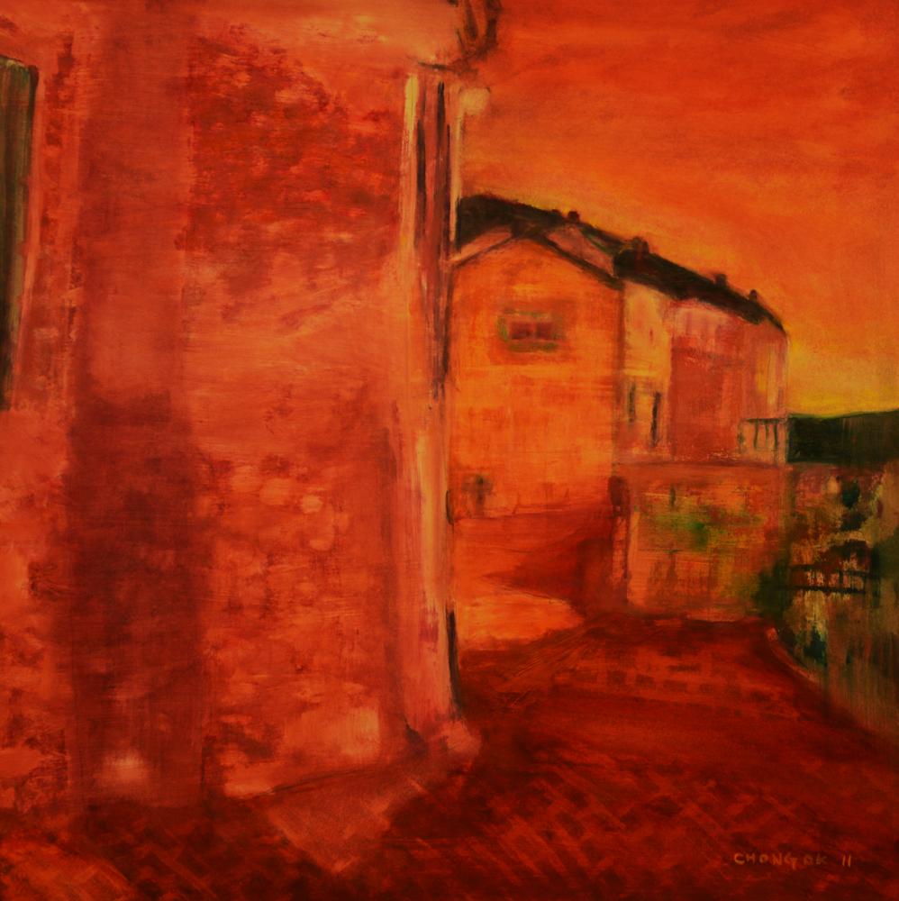 Menerbes Landscape series, 01