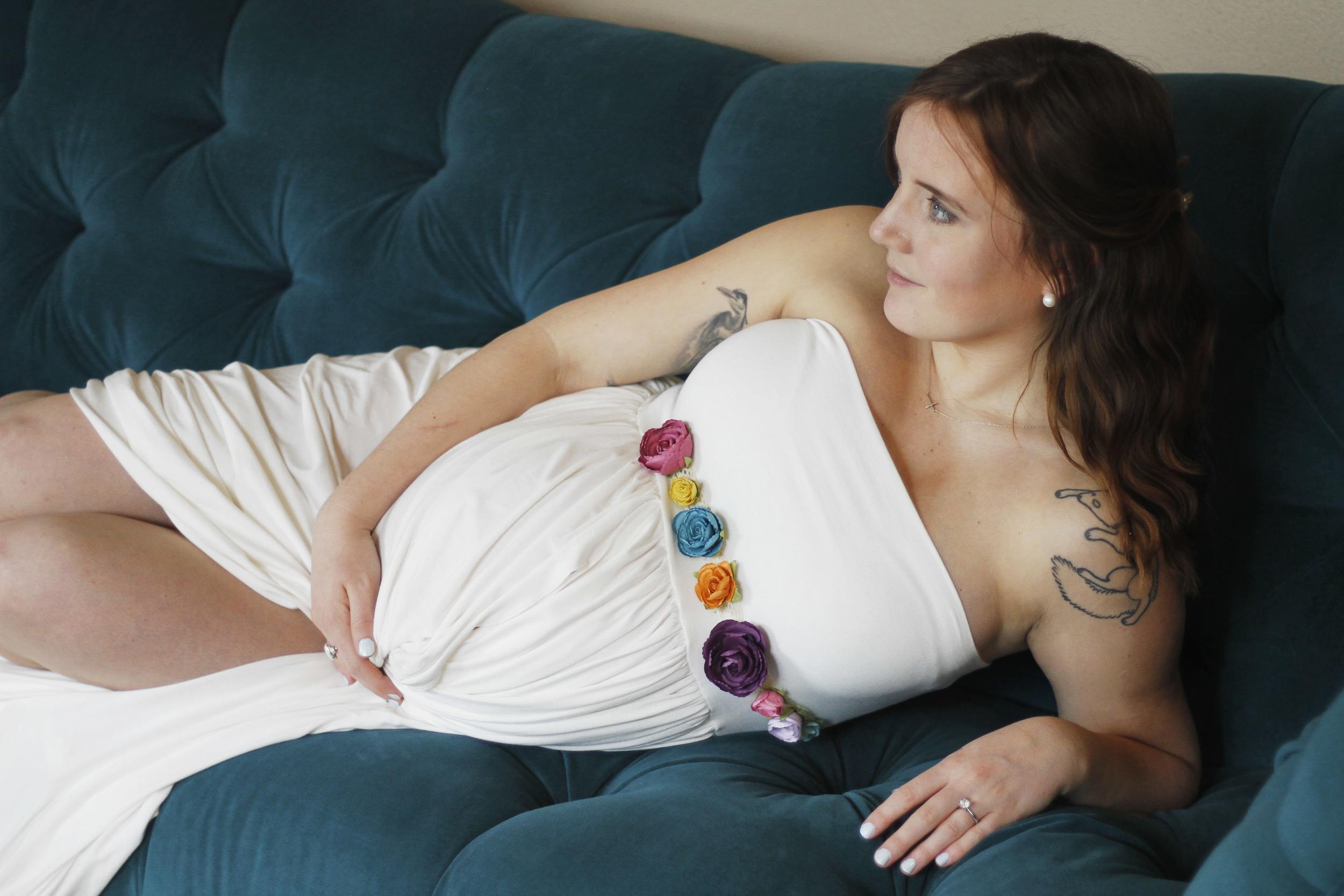 Greensboro Whimsical Maternity Portrait Photography