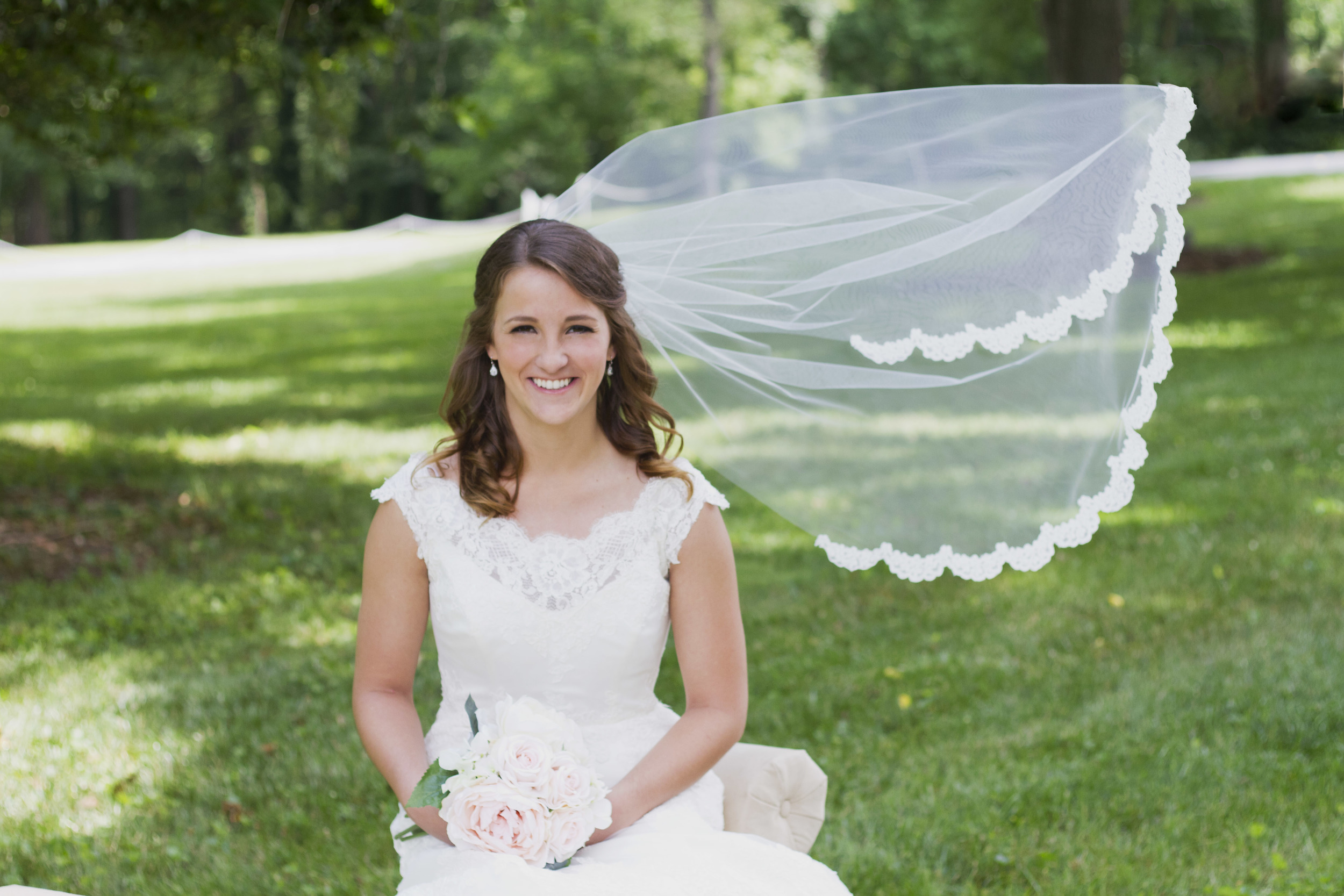 Belmont Estate Reidsville Wedding and Bridal Portrait Photography