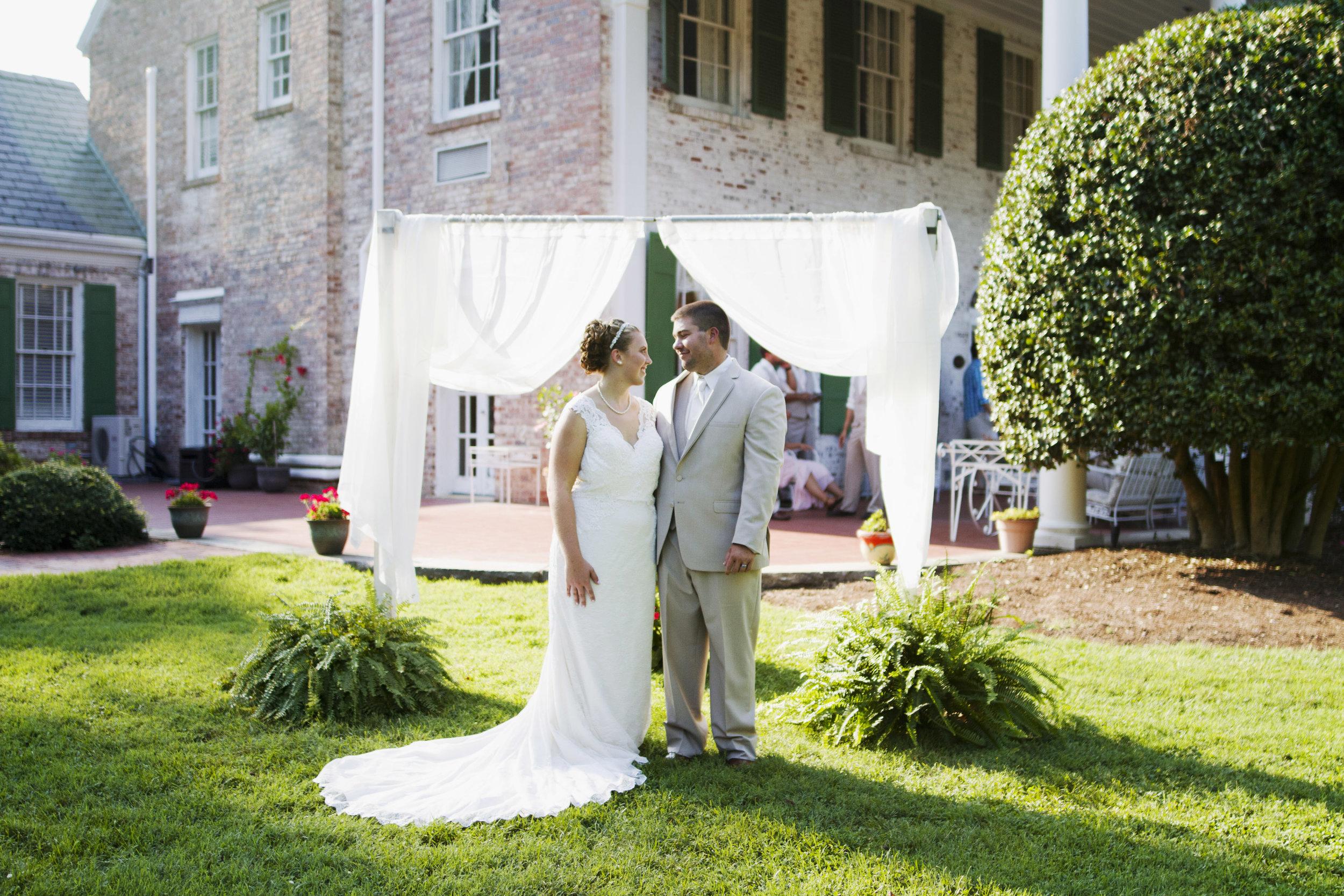 Penn House Reidsville North Carolina Wedding Photography