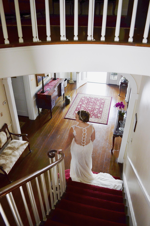 Penn House Reidsville North Carolina Wedding and Bridal Portrait