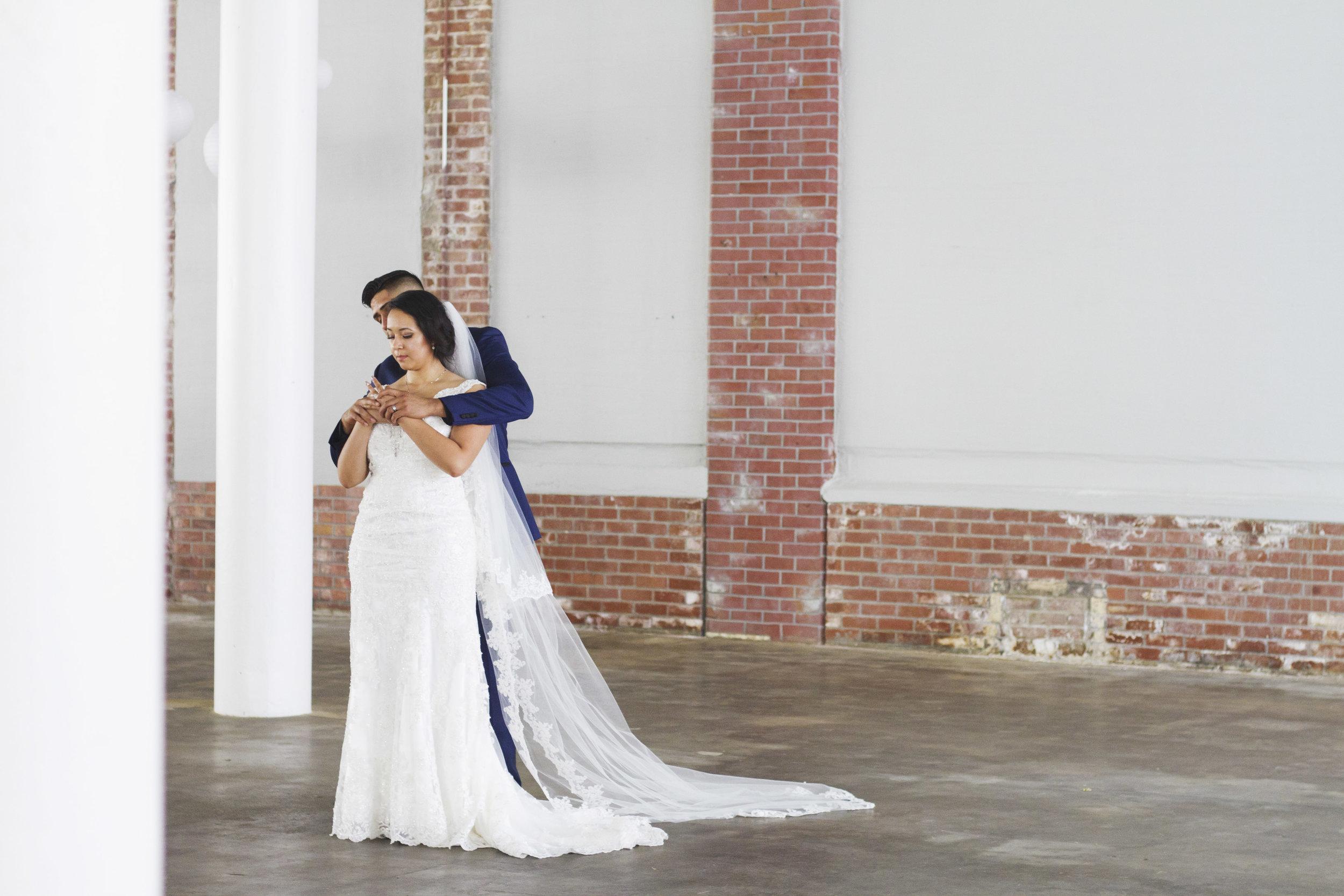 High Point The Lofts Modern Wedding Photography