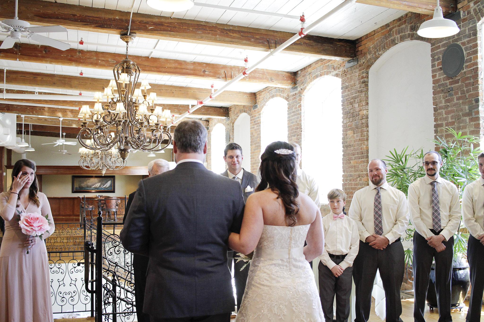 Revolution Mills Wedding by Kayli LaFon Photography in Greensboro Winston-Salem, North Carolina