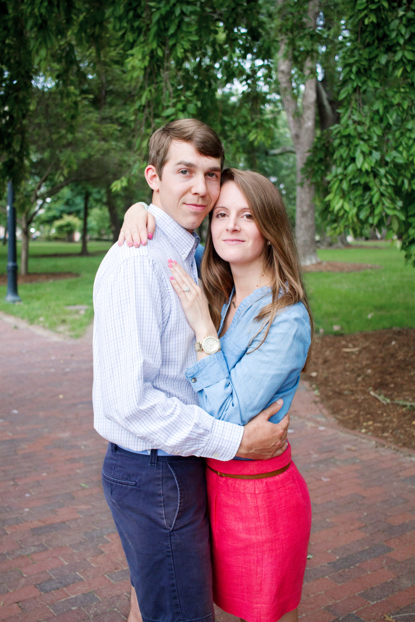 UNC Chapel Hill Engagement Session by Kayli LaFon Photography, Greensboro Photographer