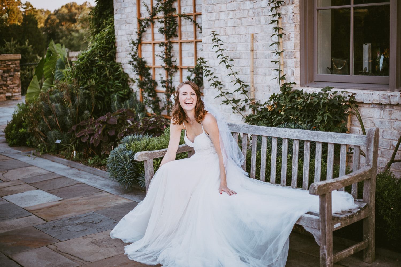 Garden Bridal Shoot by Kayli LaFon Photography, NC Greensboro Winston-Salem Wedding Photographer