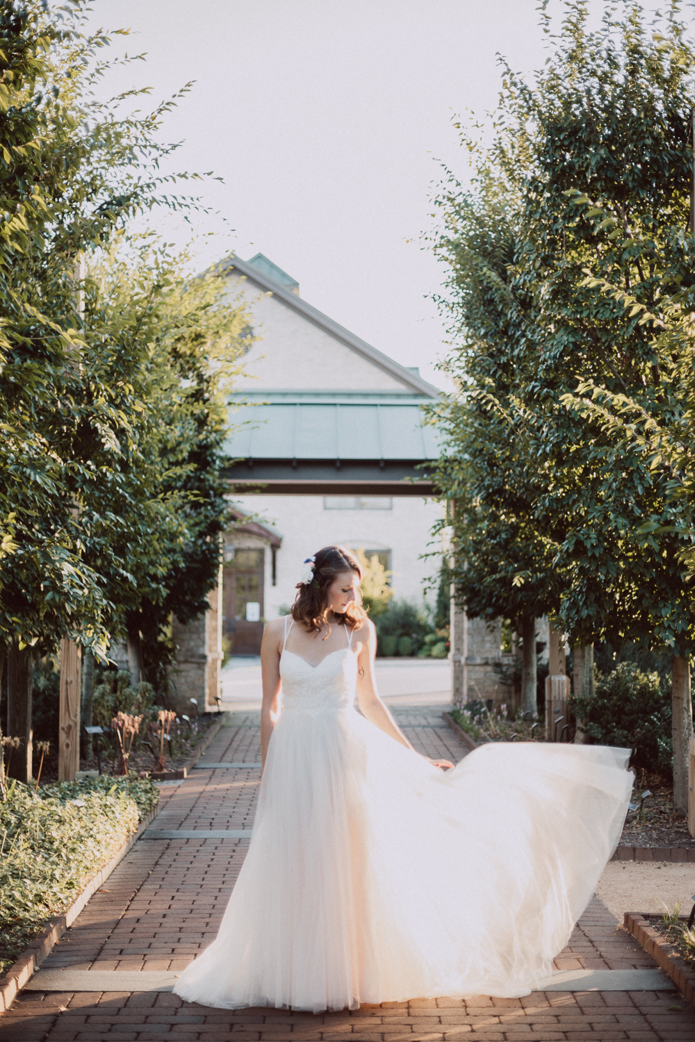 Garden Bridal Shoot by Kayli LaFon Photography, NC Greensboro Winston-Salem Wedding Photographer
