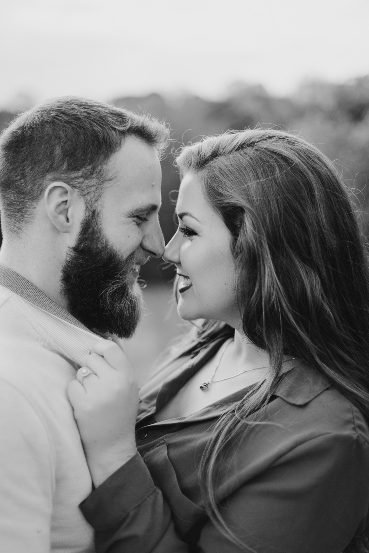 Outdoorsy Fall Engagement Session | Kayli LaFon Photography | Greensboro Winston-Salem Photographer